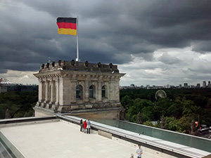 Coupole du Reichstag, photo © allemagnevoyage