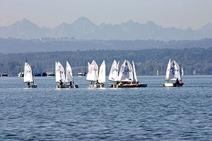 Voiliers sur l'Ammersee